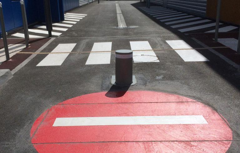Borne-contrôle-accès-St-Doulchard
