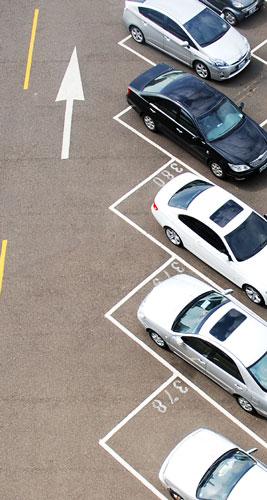 parking vu de haut