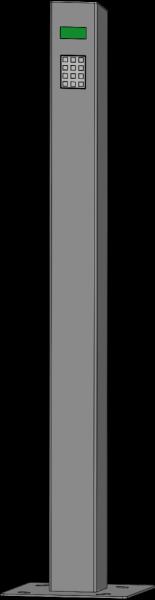 Potelet digicode